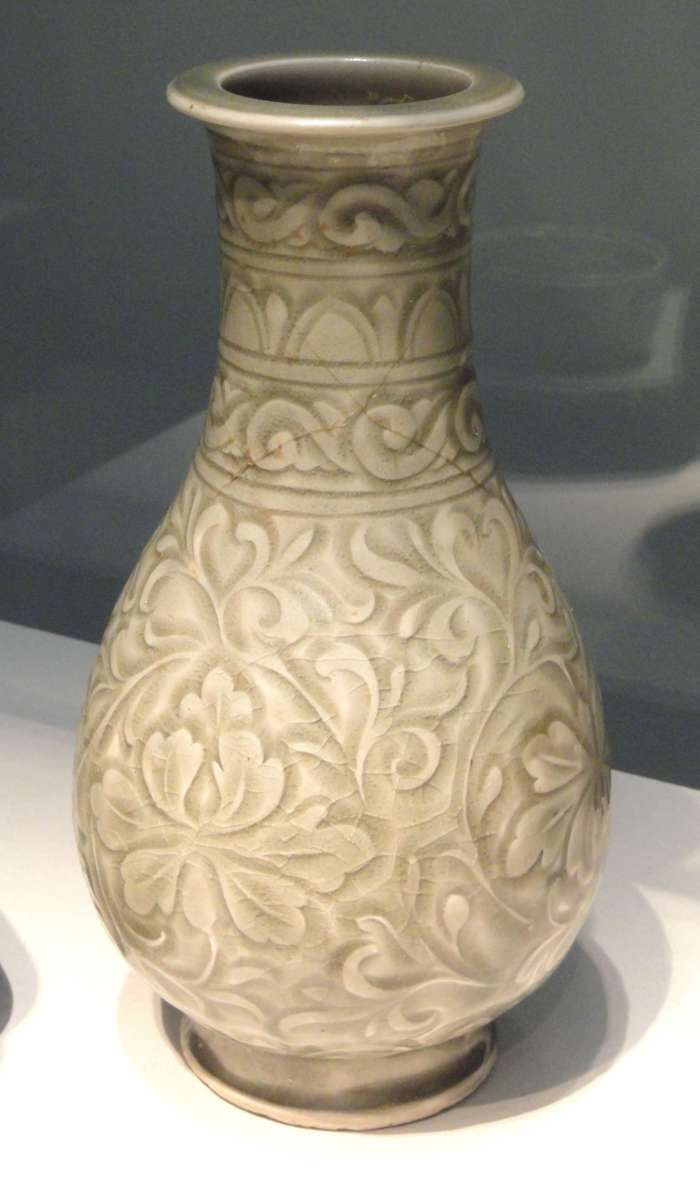 Seladonové zboží (Yaozhou ware) z období dynastie Song (11. století).