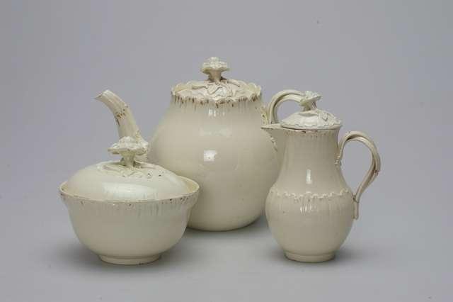 """raný čajový set """"Queensware"""", 1762 až 1765"""