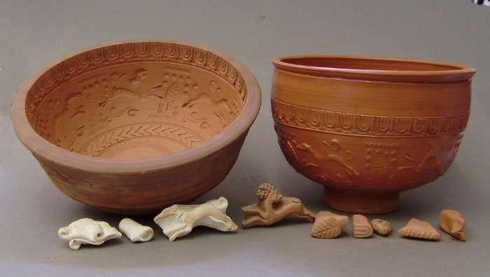 Replika samijské terra sigillaty