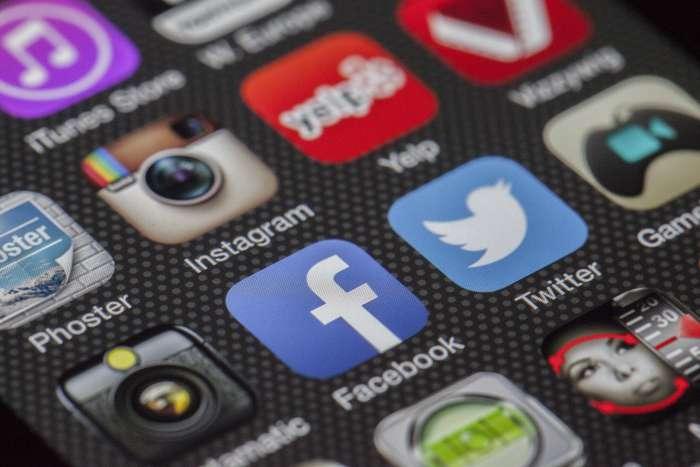 Sociální média, ilustrační foto