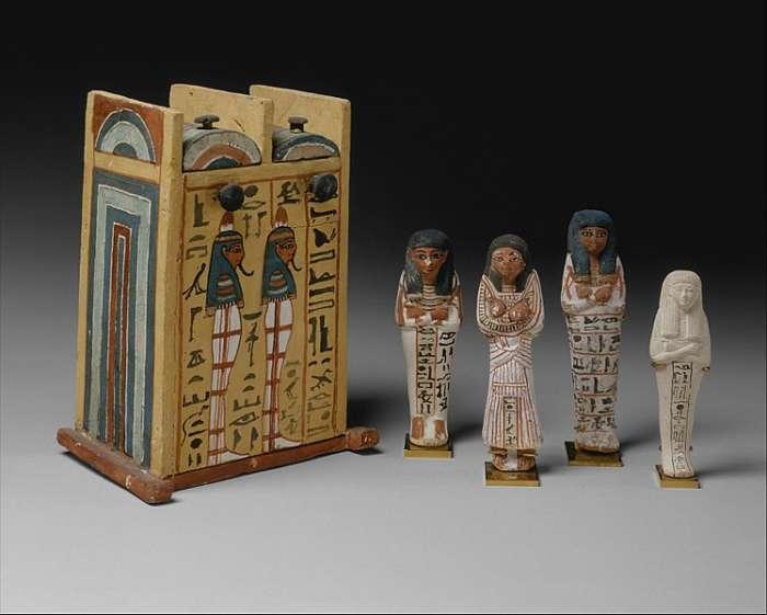 Vešebty z dílny Chabechneta, umělce z doby Ramsese II.