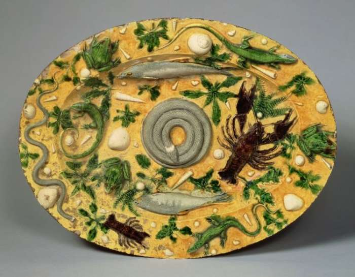 Oválná mísa, 1550