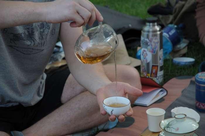 Příprava čaje 5