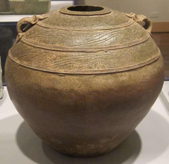 Obr.2 Zásobnice – dynastie Han