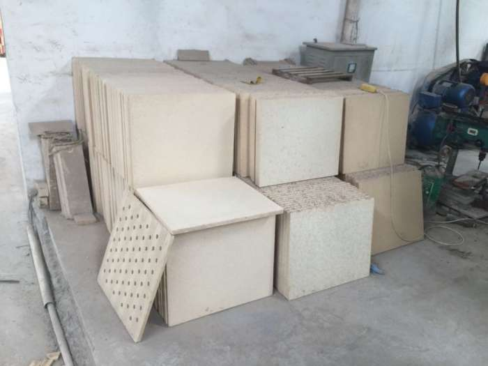 Pláty do keramických pecí