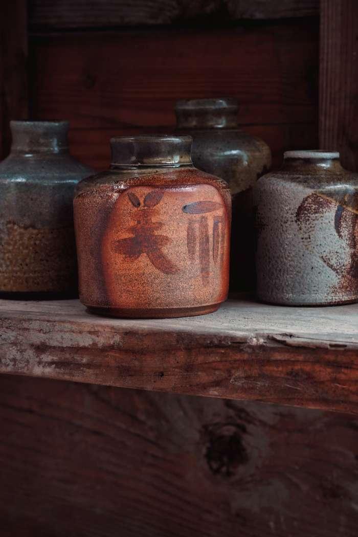 Dřevem pálené výrobky