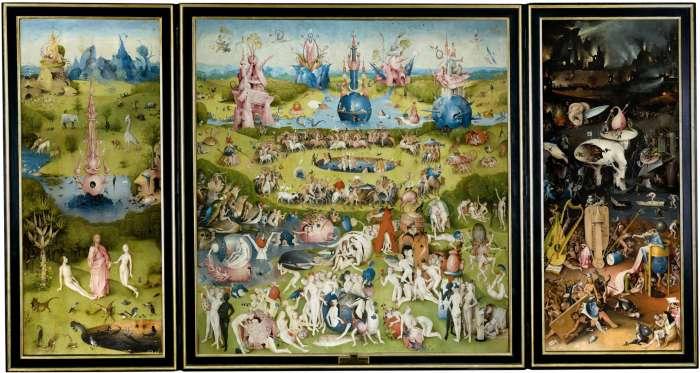 Hieronymus Bosch, Zahrada pozemských rozkoší 1503 - 1504