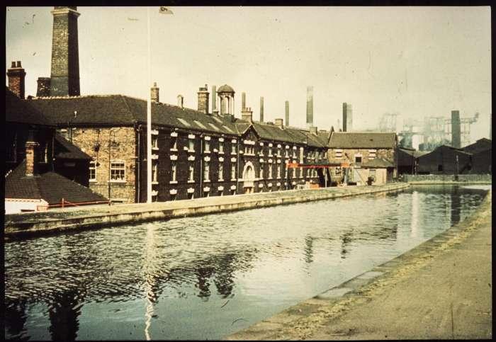 továrna Etruria 1930