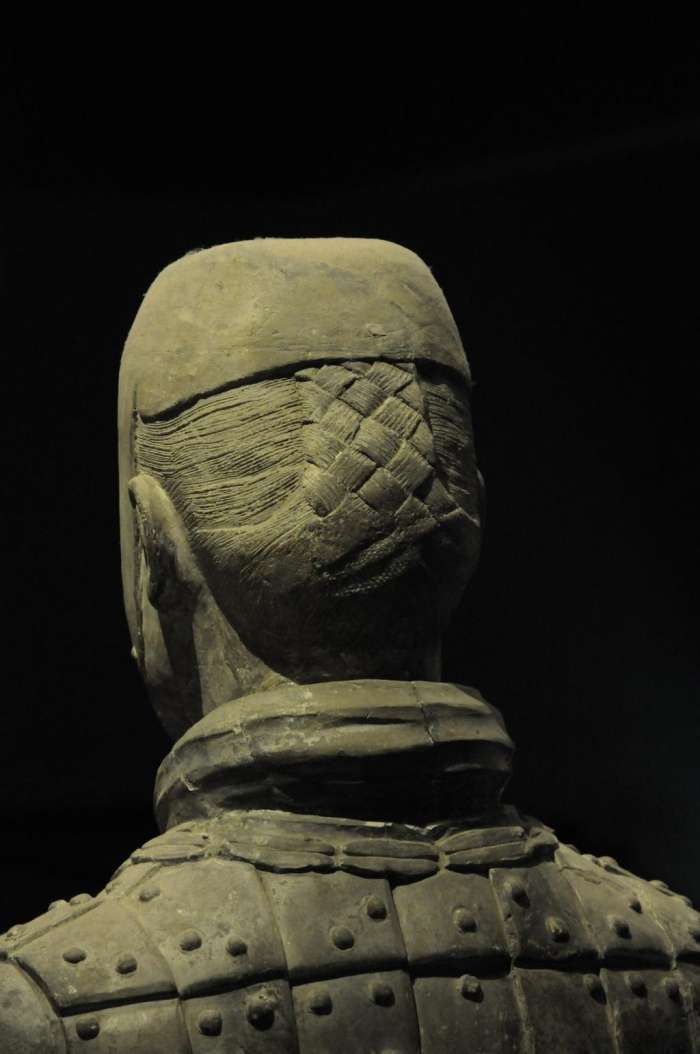 Detail účesu