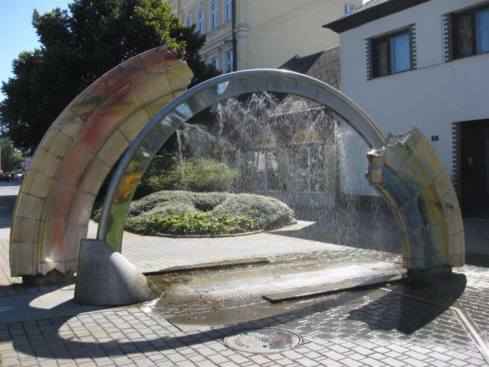 Fontána Duha, Bystřice pod Hostýnem