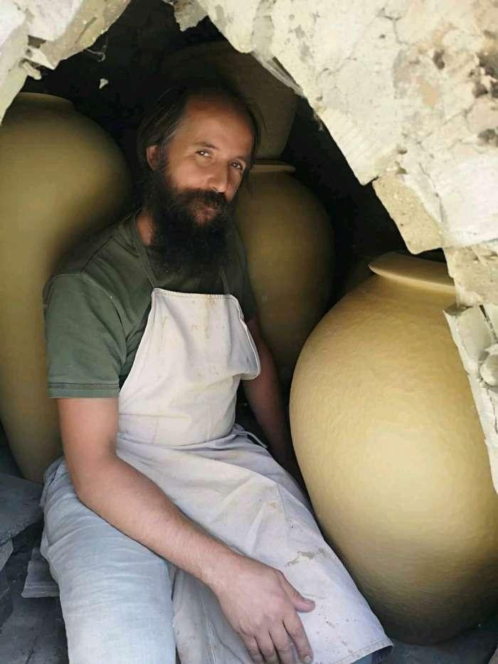 Petr Toms a největší nádoby z Kohoutova